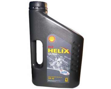 Масло моторное SHELL Helix Ultra SAE 5W-40 SN/CF (Канистра 4л)